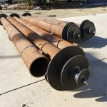 Commercial screw pilings -Chullora APO Post.
