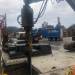 Commercial screw pilings - Sell & Parker Blacktown
