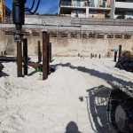 residential screw pilings - Botany Bay st AT Building 2016
