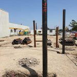 residential screw pilings - hillsdale