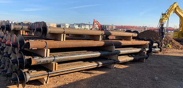 Steel Screw Pile Solutions Julia Reserve Community Centre
